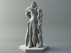 Elven mage - D&D miniature