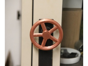 Handwheel door handle