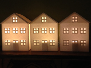 House Tea Light Cover