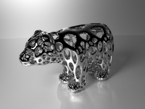 Bear - Voronoi Style