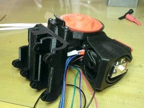 Toranado Extruder X Carriage for 10mm rod PRUSA i3