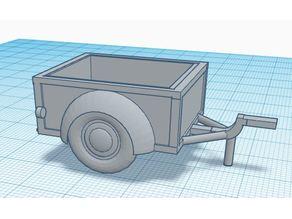 Vintage trailer for vintage car