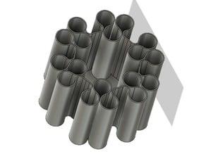 vase print spiral print tool holder