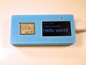 ESP8266 1.3 OLED case