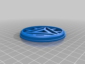 Arc Reactor Cookie Cutter