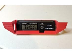 Thermometer/Hygrometer Holder for Dry Box