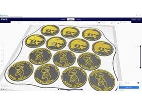 Pokemon Go Community Day #16 coin - Bagon