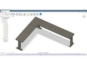 Modular shelving