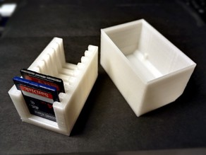 Lid for SD Card Rack