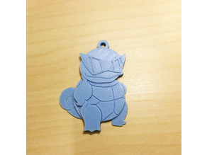 Squirtle Key chain