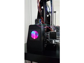 IKEA Lack Enclosure Anet A6 cooling duct assembly