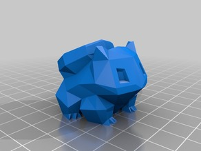 Bulbasaur Planter Remix