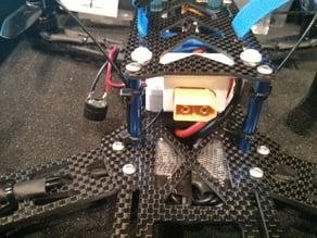 XT60 holder for emax 250 pro frame