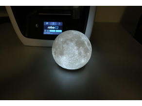 High Detailed Moon Lamp
