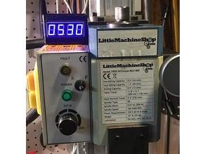 macpod mini-mill Tachometer case