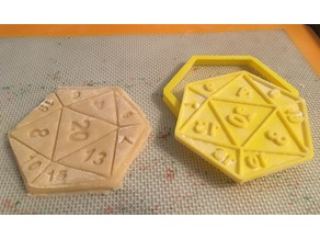 D20 Cookie Cutter