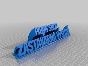 Pawn shopa ZB vysluní