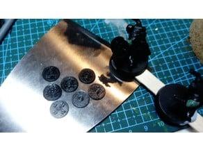 28 mm round shields - vikings, saxon/saxons, rohan