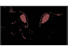 Venom v. Carnage 2D Art
