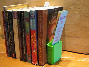 Bookend Book for Bookmarks