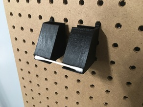Q-Tip Holder for 25mm Pegboards