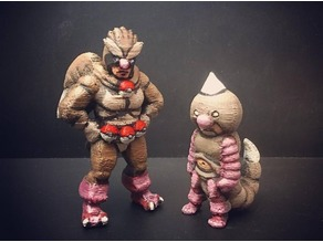 Pidgeyman and Boy Weedle