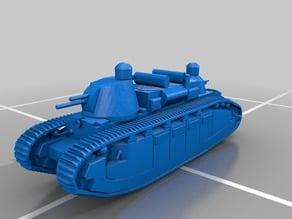 Battlefield 1's Char 2C Tank