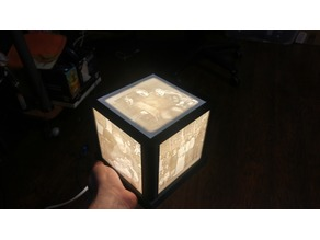 Sturdy Lithophane Box