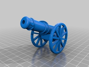 Functional toy BB cannon