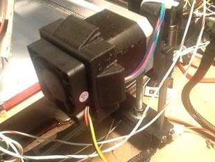 NEMA17 to 40mm Fan Adapter