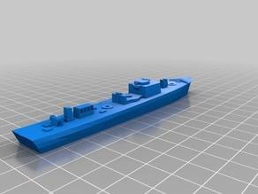 R-boat (wwii german motor-minesweeper) - 1/300