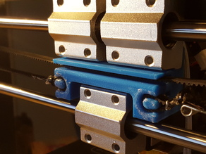 X- Axis Belt Mounting Bracket (Cocoon Create, Wanhao Di3 v2, etc.)