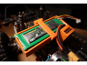 SCX10 battery box with buzzer!!!