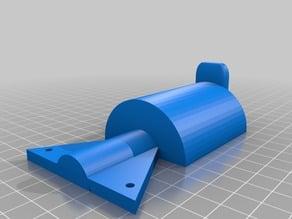 EZT-T1 Deltaprinter Filamentholder Rework