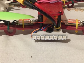 H king colour quad frame WS2812 8 BIT LED mount