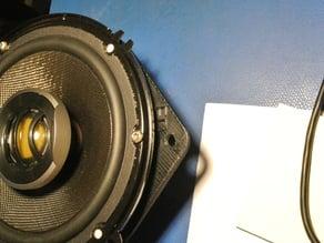 Subaru front door speaker adapter plates