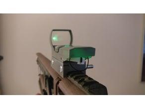 Green dot reflex sight