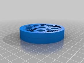 Compound Planetary Gears 1:3915