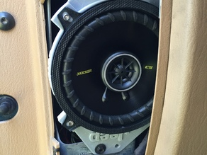 Jeep TJ front speaker adapter