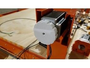 Large knob for Nema 23 stepper motor