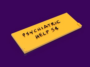 Lucy's Psychiatry Clinic Part 1 (of 3) - Peanuts Refrigerator Magnet