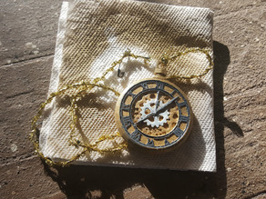 Steampunk Pocket Watch Cosplay Prop
