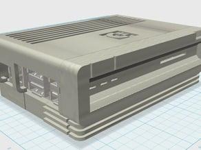 Raspberry Pi B+/2 Amiga 3000 Case remix