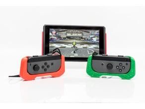 Single Joy-Con Grip -  With logos(Switch, Mario, Luigi)