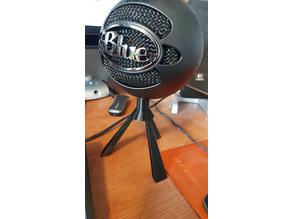 Blue Ice Mic Stand (unthreaded)