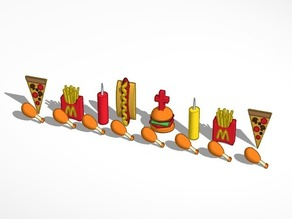 Fast Food Chess Set #Chess