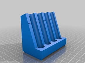 Aquarium Test Tube Rack - 4 Slots