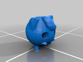 Low Poly Jigglypuff