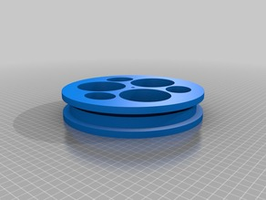 My Customized Pulley with 3 holes