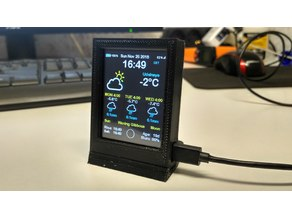Enclosure for AZSMZ TFT 2.4 TOUCH